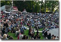 Freilichtbühne Schwerin mit 2, 3 Zuschauern... ;o)