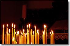 Kerzenlicht für viel Wärme...